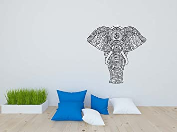 Coloring Book Wallpaper Peel And Stick For Kids Adults Seamless Hand Drawn Elephant 26W