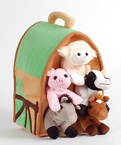 Cow Donkey Personalised Teddy Bear- Animal Pig Lamb