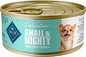 Blue Buffalo True Solutions Small & Mighty Natural Small Breed Adult Dry Dog Food and Wet Dog Food, Chicken