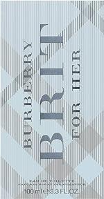 Burberry Brit For Her Eau de Toilette Spray