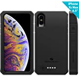 iPhone Xs Max Battery Case, ZeroLemon 8000mAh 6.5inches Rugged Juicer Extended Rechargeable Battery with TPU Case for…
