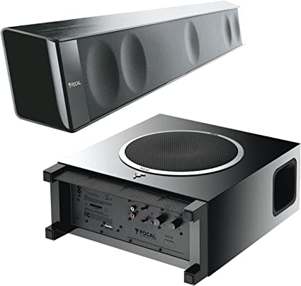 Set: Focal Dimension - Barra de Sonido y Focal Sub Air Active - Subwoofer