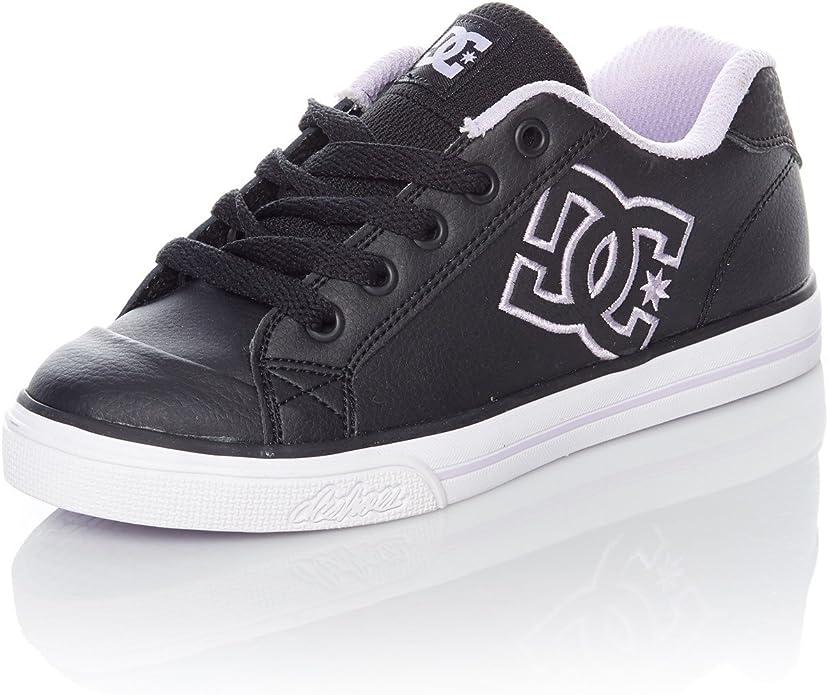 DC Shoes Chelsea Sneakers Kinder Mädchen Schwarz/Lavendel