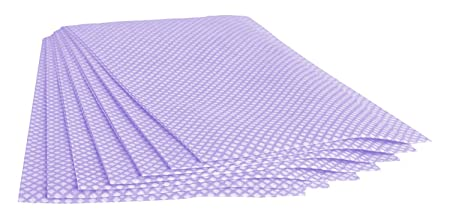 The Paper Cup Factory Extra Large Purple Multi Purpose Disposable Cleaning  Cloths | J Cloths Style  | 60cm x 30cm | 50 Cloths per Pack