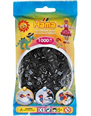 Hama 207-18 - Perlen, 1000 Stück, schwarz
