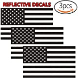 Amazoncom PCS American Subdued Flag Sticker Tactical Military - Motorcycle helmet decals militarysubdued american flag sticker military tactical usa helmet decal