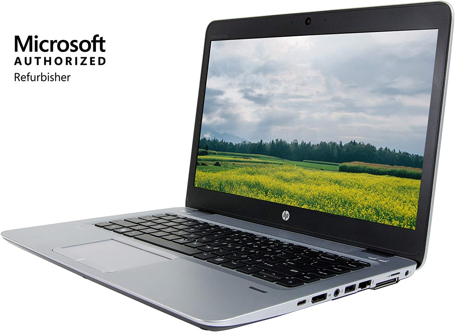 HP EliteBook 840 G4 14 inches Full HD Laptop, Touch Screen, Core i7-7600U 2.8GHz up to 3.9GHz, 16GB RAM, 512GB Solid State Drive, Windows 10 Pro 64Bit, CAM (Renewed)