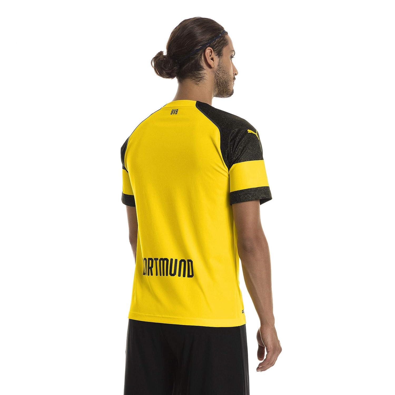 Puma Herren Herren Herren Bvb Home Shirt Replica Evonik With Opel