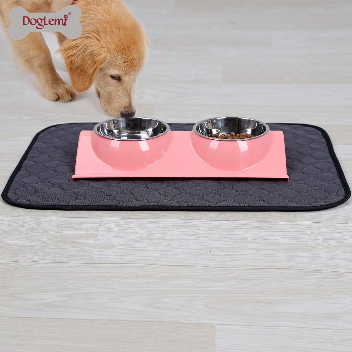 Tineer Lavabile Puppy Training Pad Pet Mat Antiscivolo Riutilizzabile Pee Pad Coperta per Cane//Gatto//Coniglio S, Beige