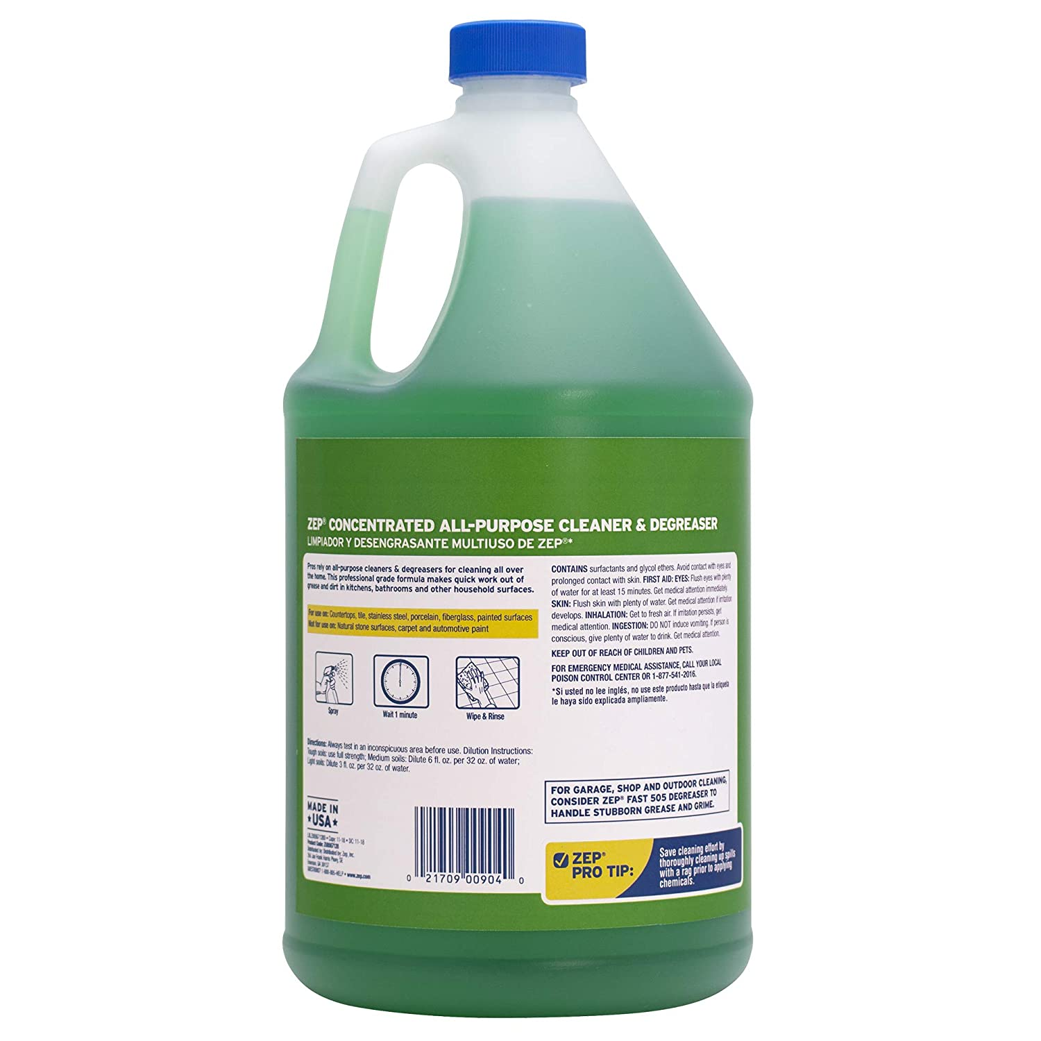 . Zep ZU0567128 All Purpose Cleaner And Degreaser