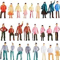 Gejoy 100 Piezas Figuras de Personas Modelos