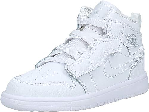 Nike Jordan 1 Mid Alt (PS) AR6351 109 WhitePure Platinum