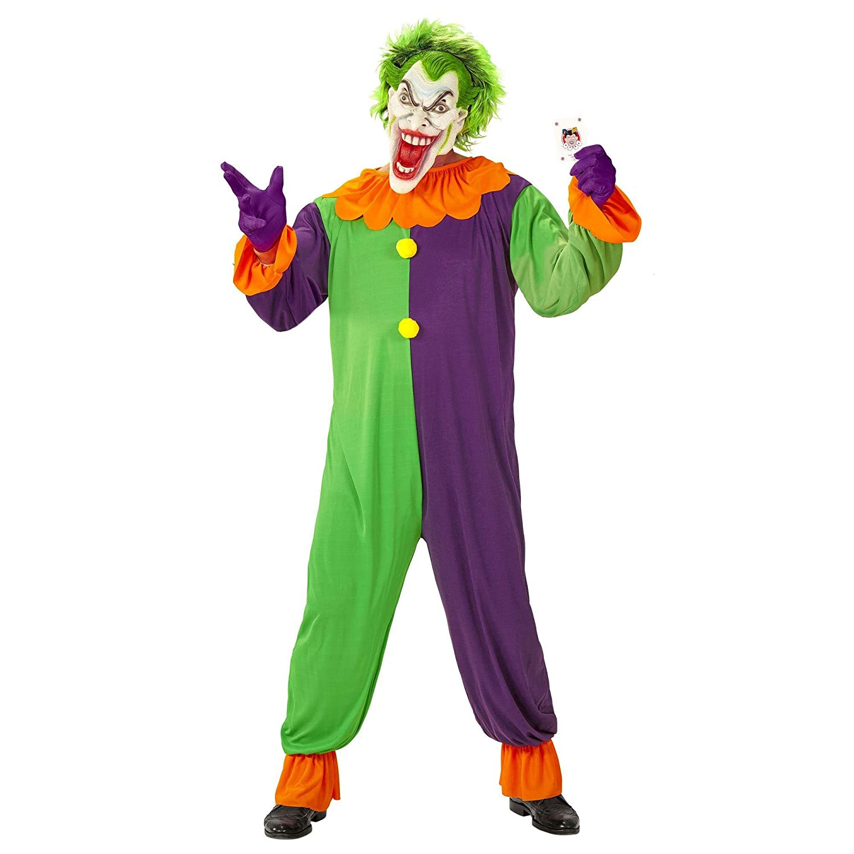 WIDMANN wdm07313 ? Disfraz Evil Joker, morado, Large: Amazon.es ...