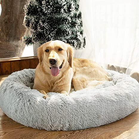 Cama para mascotas, cojín de felpa suave, cama para gato ...