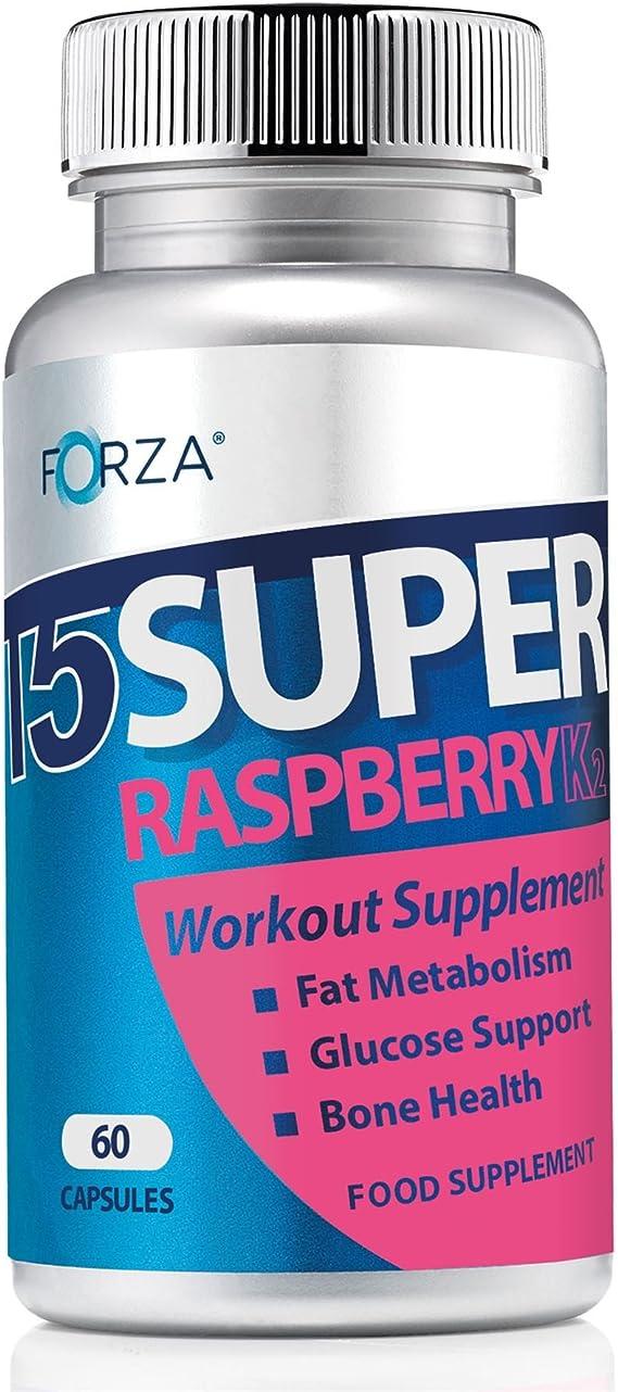 FORZA T5 Súper Frambuesa K2- Suplementos Para Dieta y Fitness ...