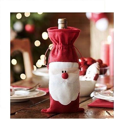 Miya® 2 Set Super dulce Navidad Fiesta Vino Botella weinbag ...