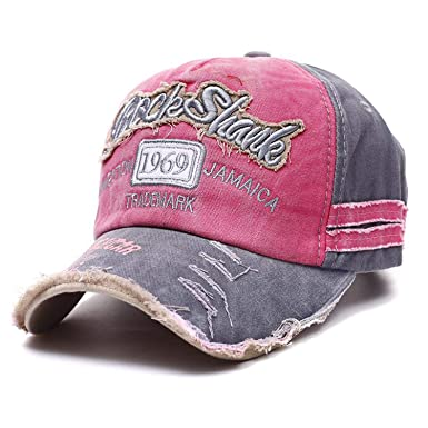 Amazon.com: Men Women Gorras Snapback Caps Baseball Caps Hat Sports Outdoors Cap Dad Cap Pink: Clothing