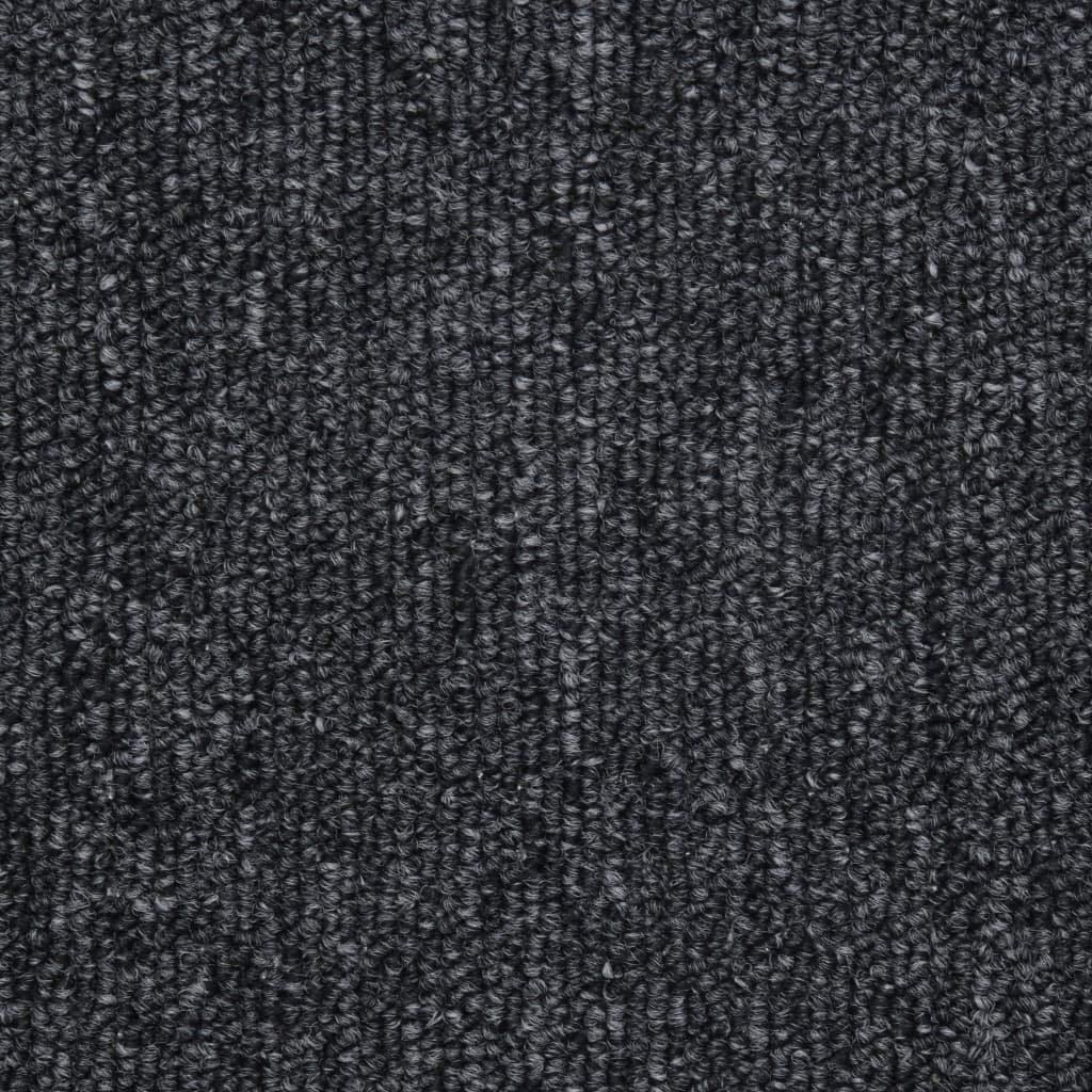 mit Doppelseitigen Klebeb/ändern Treppenmatten Anthrazit//Hellbraun//Kaffeebraun//Taupe Polypropylen 65 x 24 x 4 cm Stufenmatten Festnight- 15 STK
