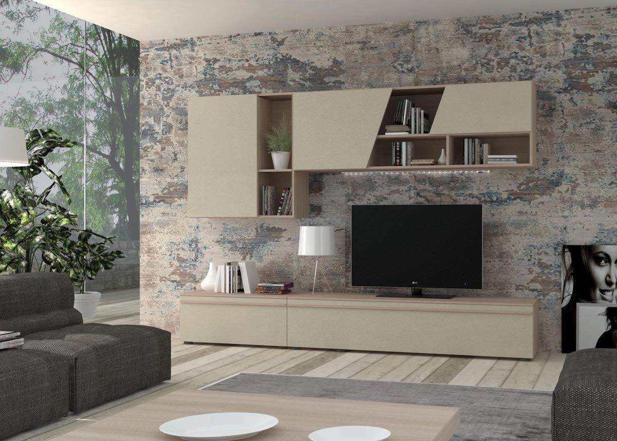IMAB GROUP SPA Wohnzimmer cm270 Ulme Perle: Amazon.de: Küche & Haushalt