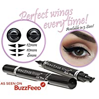 Winged Eyeliner Stamp – WingLiner by Lovoir (8mm Mini, Midnight Black)