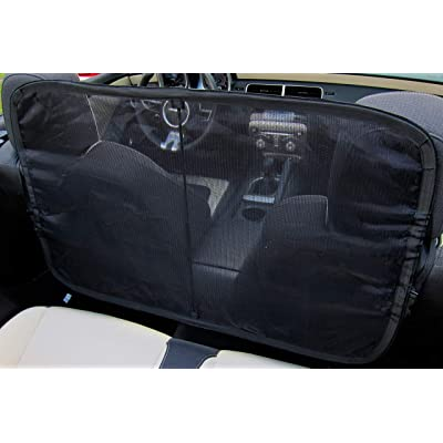 Windscreen Wind Deflector for Convertible Cars - Stop Crazy Hair and Enjoy The Drive.: Automotive