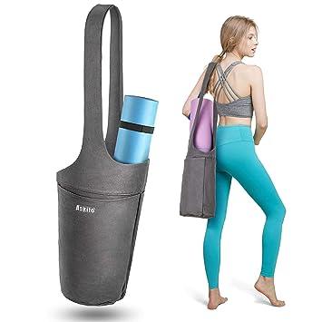 Amazon.com: ASKITO - Bolsa para esterilla de yoga, con ...