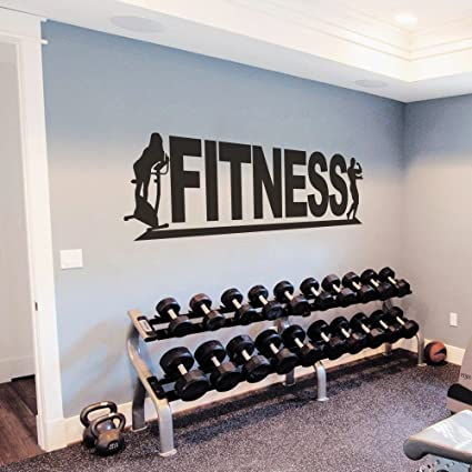Amazon.com: fitness wall vinyl decal fitness wall vinyl sticker