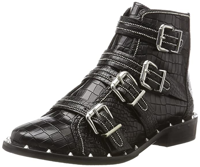 Schutz Women Boots, Bottes Classiques FemmeNoirSchwarz (Black)