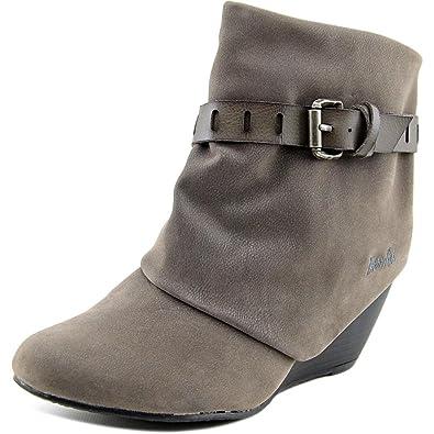 Blowfish Women's Beryl Boot,Grey Fawn/ Steel Grey Dyecut Pu ...