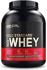 Optimum Nutrition Gold Standard 100% Whey Protein Powder, Extreme Milk Chocolate,