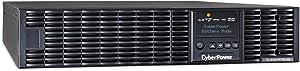 CyberPower OL2200RTXL2UN Smart App Online UPS System, 2200VA/1800W, 7 Outlets, 2U Rack/Tower + Pre-Installed SNMP Card