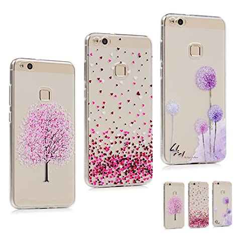 coque huawei p10 lite rose pale
