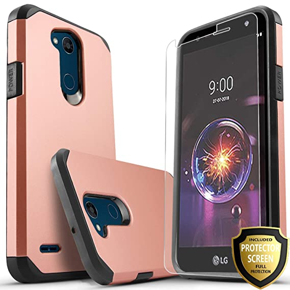 best service 3c718 6c547 LG Fiesta 2 Phone Case, LG X Power 2 Case, LG Fiesta LTE Case, LG X Charge  Case, Starshop [Shock Absorption] Impact Advanced Protective Phone Cover ...