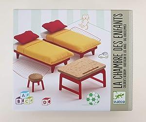 DJECO Children's Room Furniture Playset