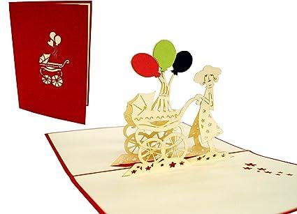 Tarjetas de felicitación Lin Pop Up 3d Tarjetas de felicitación ...