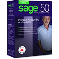 Sage 50 Premium Accounting with Payroll 2018 (2-Users)