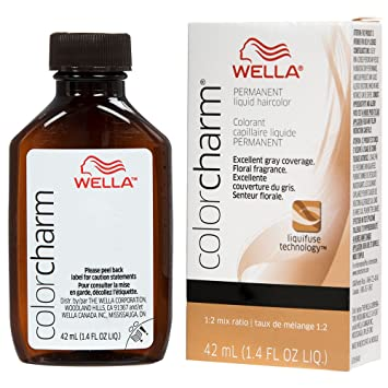 Amazon.com : Wella Charm Liquid Permanent Hair Color, 411/4n Medium ...