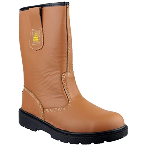 c84420324da Amblers Safety FS124 Safety Rigger Boot/Mens Boots