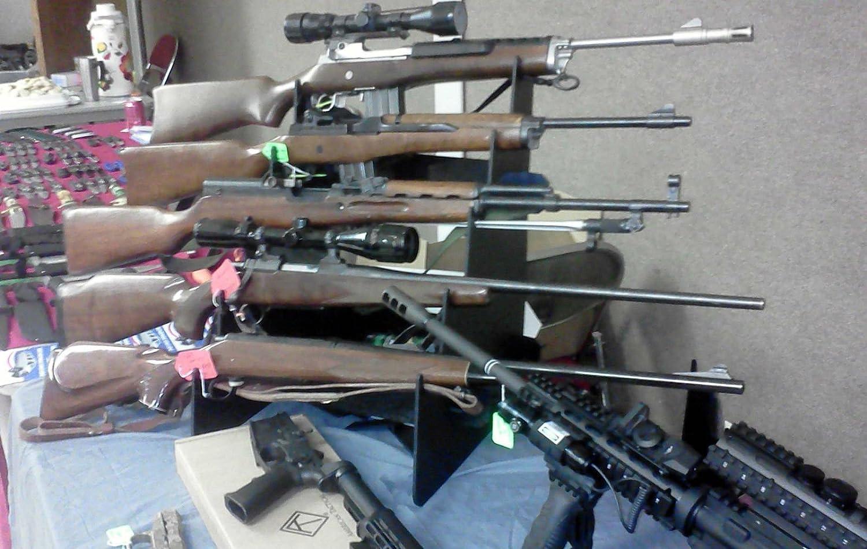Amazon.com: Espada/Rifle/Pistola Soporte De Sobremesa ...