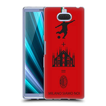 Amazon.com: Official AC Milan Red 2018/19 Crest Patterns ...