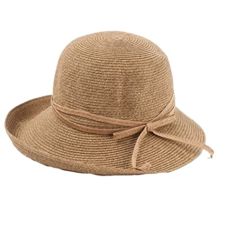 ZXQZ Cappello da Donna con Visiera Anti-UV 702404a13ba0
