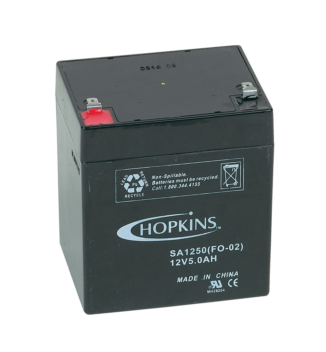 Hopkins 20008 12 Volt Rechargable Battery by Hopkins Towing Solutions