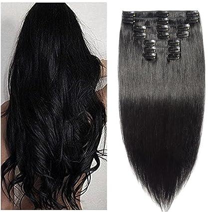 extension capelli veri clip completo