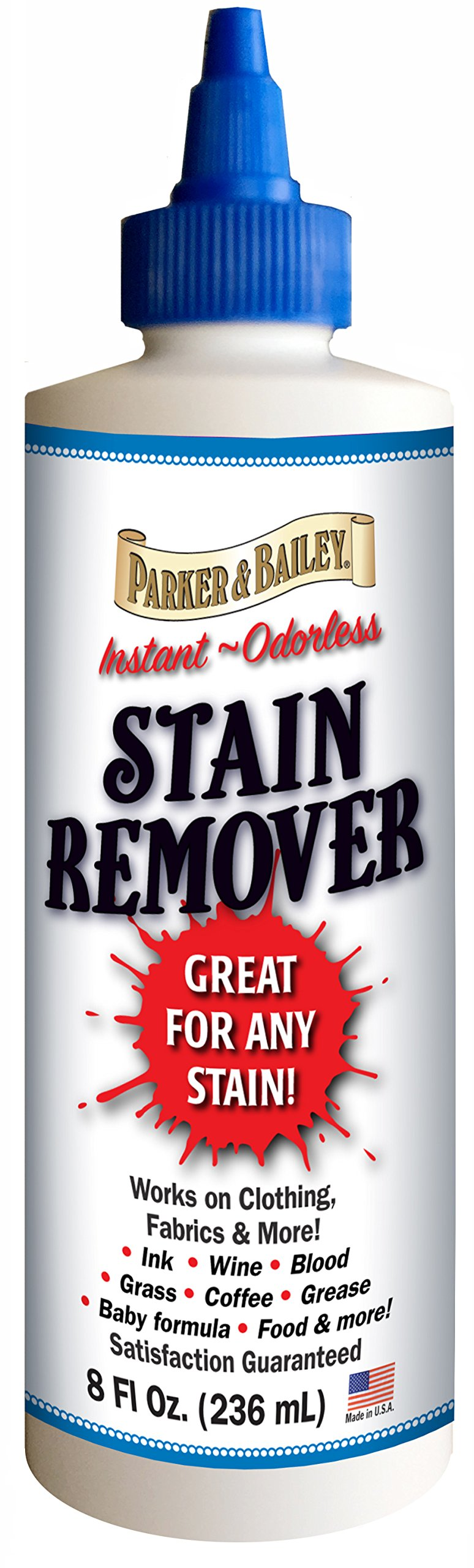 Parker Bailey cleaning product 525282 Parker & Bailey Stain Remover - 8 Oz