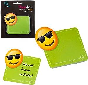 Mood Sticky Notes Fun Novelty Emoji School Office Memo Note Pad Stationery Gift - Cool Mood Emoji