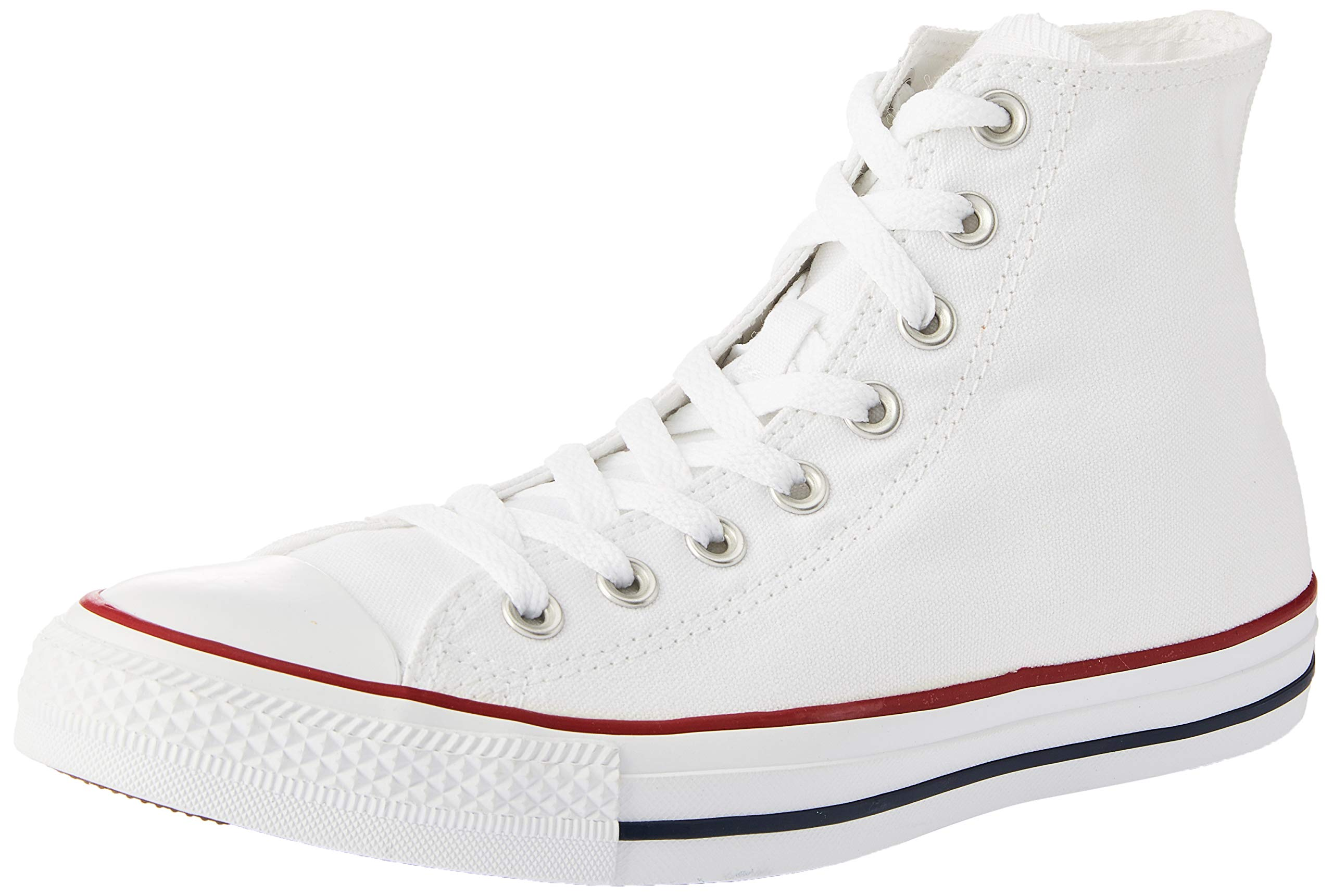 Converse Unisex Optical White M7650 - HI Top Sneaker Optical White Size 4