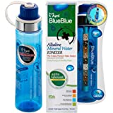 Mymi Blueblue Alkaline Mineral Water Bottle,500ml/600ml, Alkaline Bottle, Meneral, PH Balance.