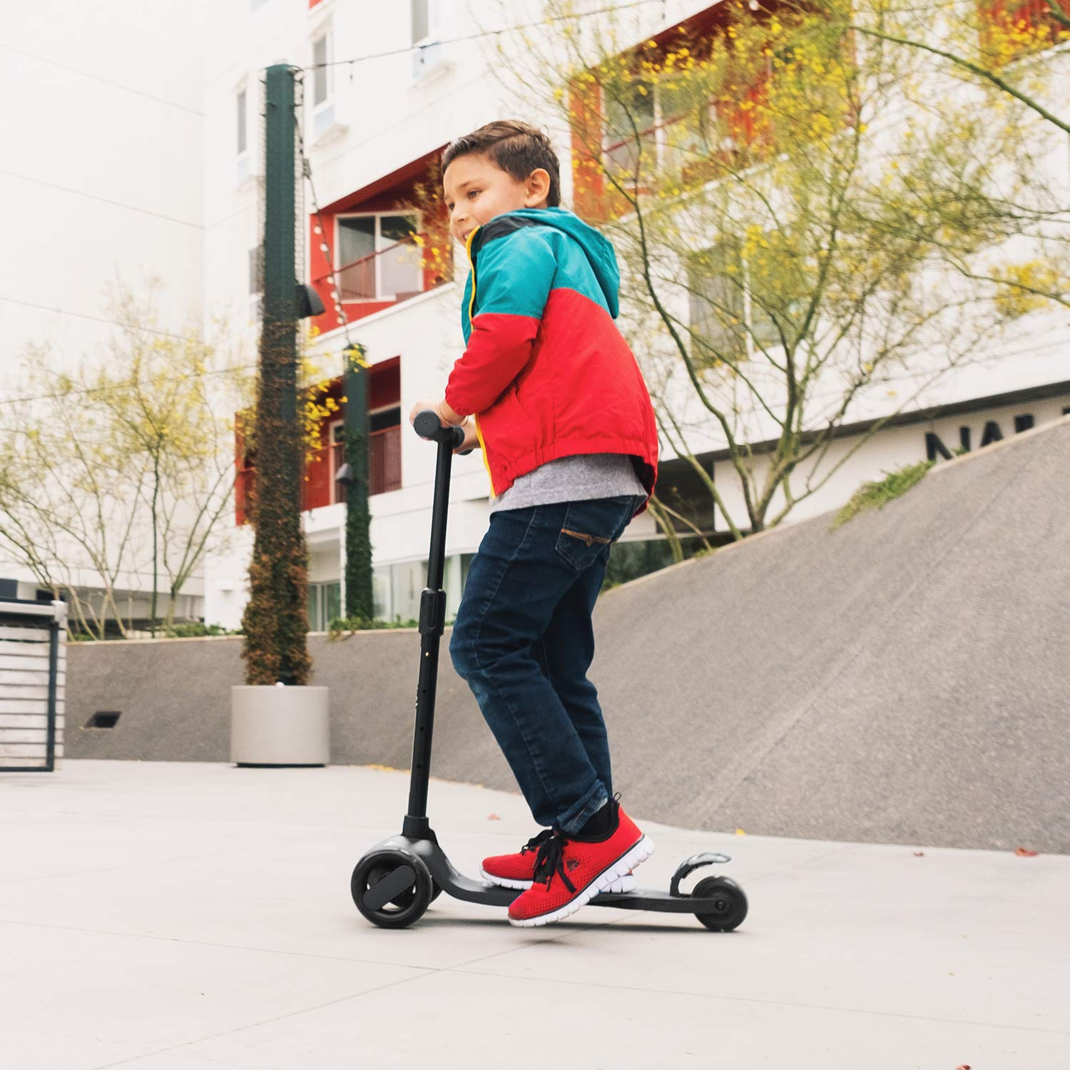 6KU 3 Wheels Kick Scooter for Kids and Toddlers Girls /& Boys Adjustable Height Learn to Steer with Extra-Wide PU LED Flashing Wheels for Children from 2 to 5 Year-Old.