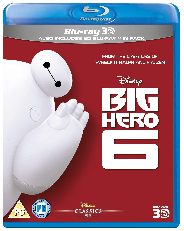 Big Hero 6 [Blu-ray 3D + Blu-ray] [2017]