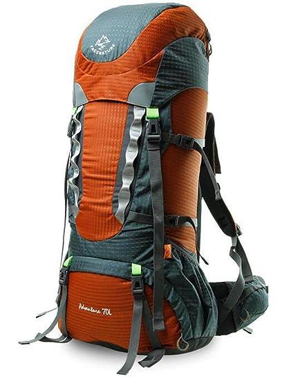 mochilas montaña bolsos de montaña profesionales 70l Mochila los hombres y mujeres de gran capacidad mochila